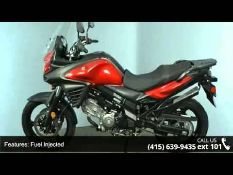 2014 Suzuki V Strom 650 Dl650 Touring Bike Only 16253 Mil Youtube
