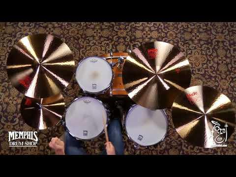 Paiste 2002 Cymbal Set 14/20/22 + Bonus 18 Cymbal (106BS18-1073017B)