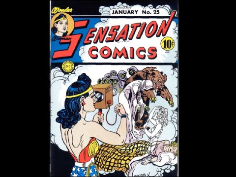 "Wonder Woman: Sensation Comics #25 ""Adventure of the Kidnapers of Astral Spirits)"