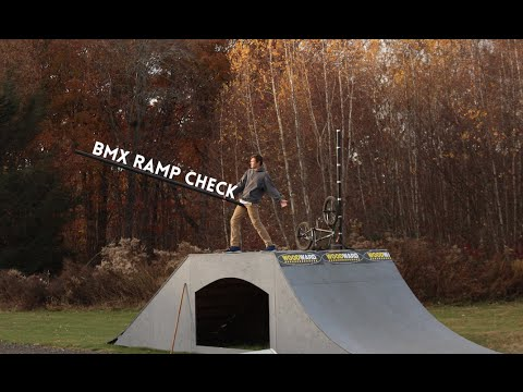 Backyard Bmx Ramps backyard bmx ramp check - youtube