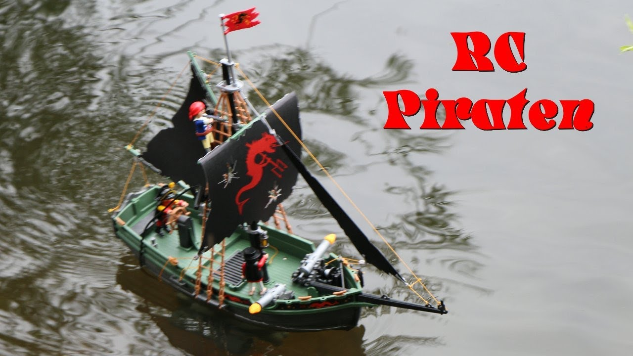 rc playmobil piratenschiff 5238 youtube. Black Bedroom Furniture Sets. Home Design Ideas