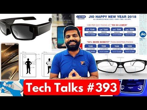 Tech Talks #393 - Jio Dhamaka Plans, Doogee V, Pixel 2 Portrait, Google Station WiFi, LG Wallet