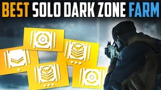 The Division | Best Solo Dark Zone Farming Route - MarcoStyle