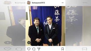 加藤茶、高木ブーの86歳祝い2ショット写真「またコントを」「お元気...