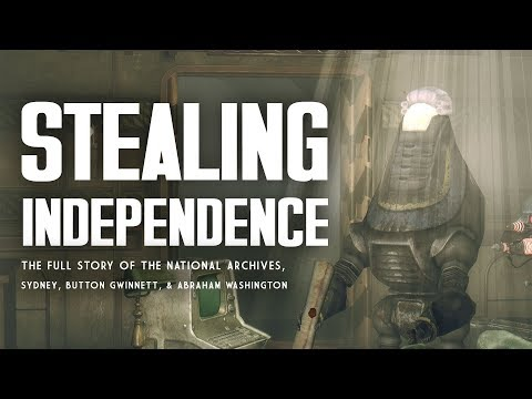 Stealing Independence: The National Archives, Sydney, & Button Gwinnett - Fallout 3 Lore