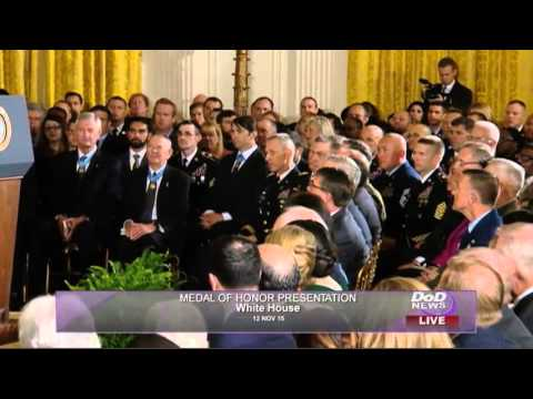 Former Fort Carson soldier receives Medal of Honor