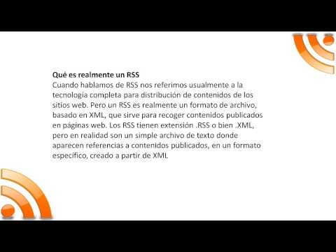 Hosting RSS Feeds Crea tus propios feeds RSS