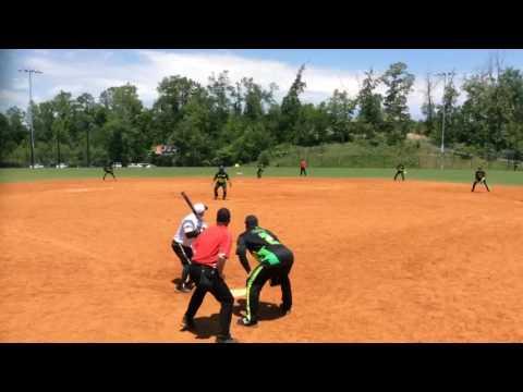 2017 USSSA Chattanooga Major - SIS Albicocco vs Xtreme