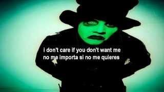 Скачать Marilyn Manson I Put A Spell On You Subtitulado En Español Lyrics
