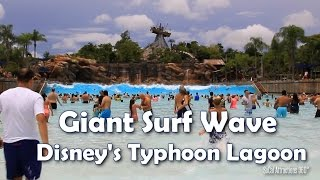 [HD] Giant Tidal Wave at Disney
