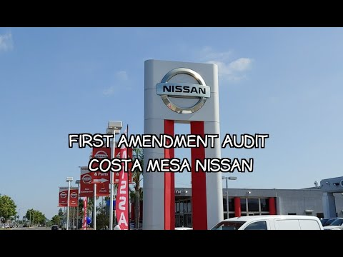 First Amendment Rights Presents: Costa Mesa Nissan Asks For I.D. Because Of A Camera In Public📷