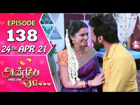 Anbe Vaa Serial | Episode 138 | 24th Apr 2021 | Virat | Delna Davis | Saregama TV Shows Tamil
