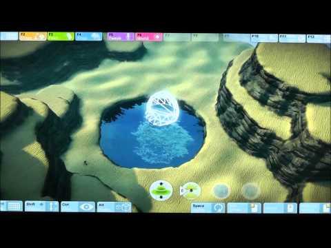 E3 2012: Gameglobe Live Demo (Off-Screen)
