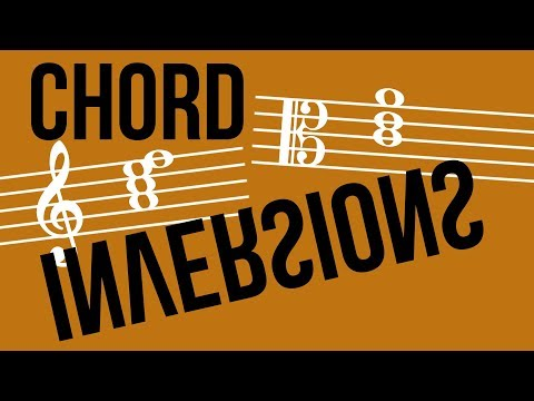 Building Chords: Chord Inversions – TWO MINUTE MUSIC THEORY #42