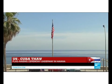 US - Cuba thaw: Kerry's speech in Havana for flag-raising ceremony