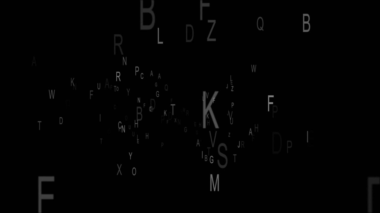 Decoding Letters Animation Royalty Free Footage Youtube Background Music Decoder