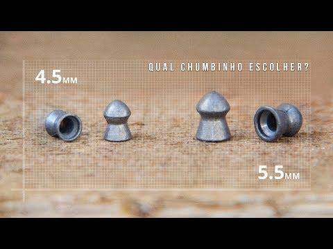 Qual chumbinho escolher? 4.5mm ou 5.5mm? - Ventureshop