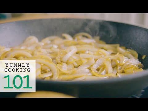 How to cook caramelized onions quickly