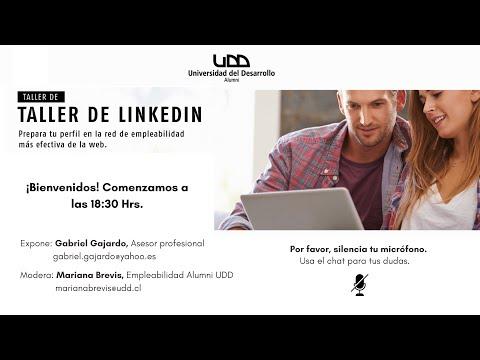 Segundo Webinar de Empleabilidad: Taller de LinkedIn Perfil Jr Sesión 2