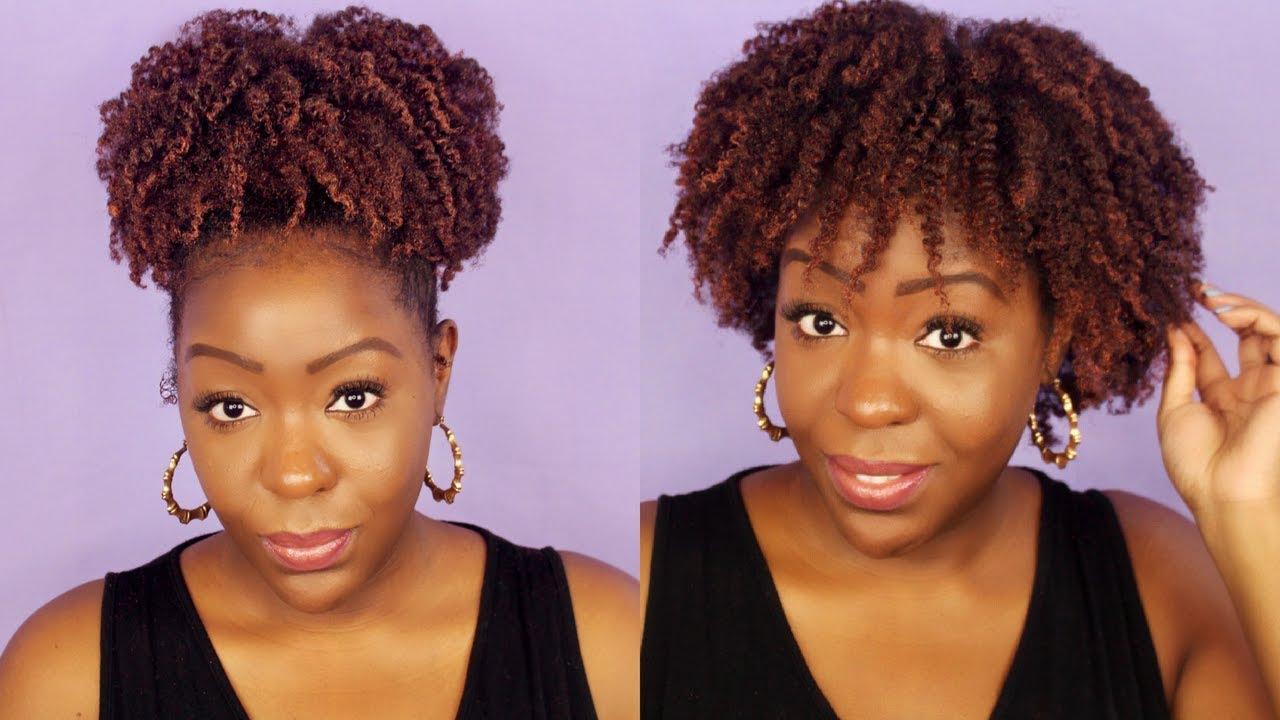Coloring My Natural Hair L Oreal Liquid Chalk Bronze Baby