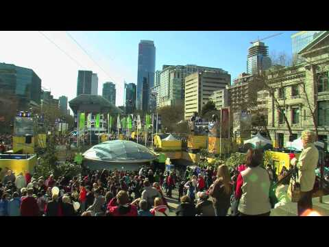 Robson Square Zip Line: Vancouver, British Columbia