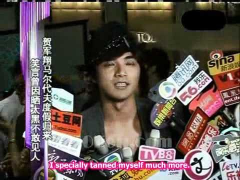 [6 Sept 2010] Mike Ho Swank Event 30Fen News (贺军翔S...