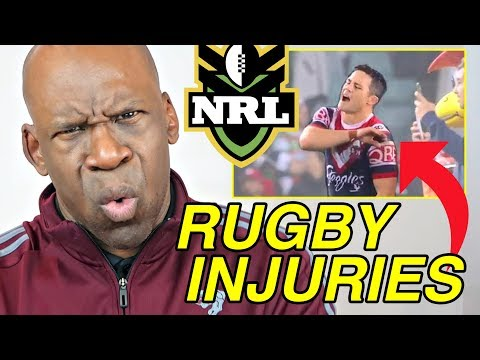 NATIONAL RUGBY LEAGUE (NRL) INJURIES Explained By Doctor | Dr. Chris