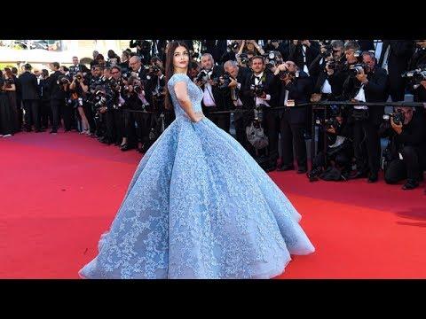 Aishwarya Rai Bachchan In Michael Cinco At The 70th Cannes Film