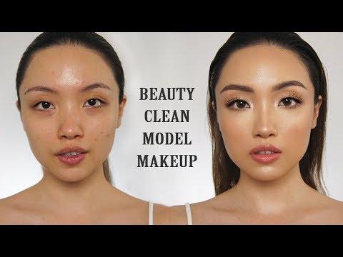 Beauty Clean Model Makeup ALA MUA! REQUESTED (Asian Face) | GELANGELICCA