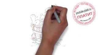 101 далматинец онлайн  Как просто карандашом нарисовать героев мультфильма 101 далматинец
