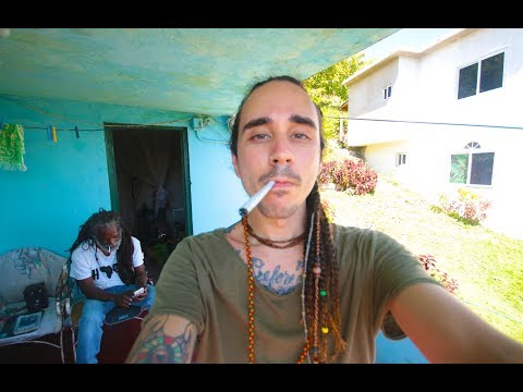 SMOKING IN BOB MARLEY'S CHILDHOOD HOME (Backpacking Jamaica)