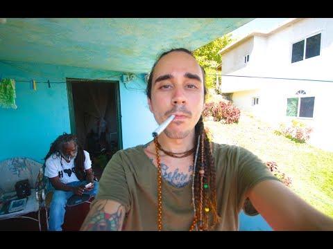 SMOKING IN BOB MARLEY'S CHILDHOOD HOME (Backpacking Jamaica Vlog)