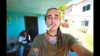 SMOKING IN BOB MARLEY'S CHILDHOOD HOME (Backpacking Jamaica)
