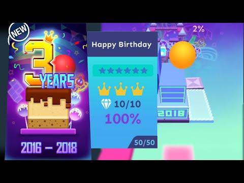 Rolling Sky - Happy Birthday | 6-Stars