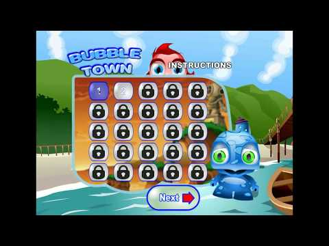 Bubble Town | Match 3 Game | Gameplay