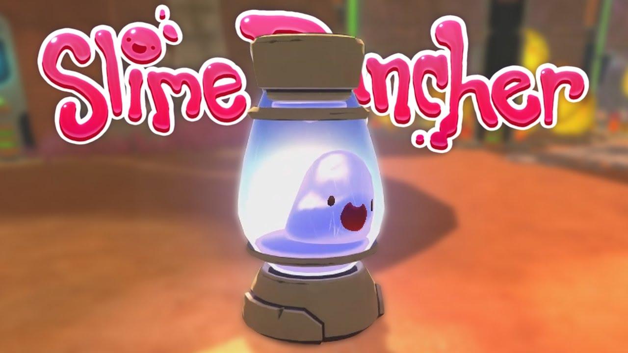 Slime Rancher Treasure Pod Cracker And Slime Lava Lamps
