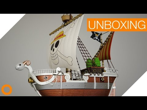 Flying Lamb / Going Merry │ One Piece │ 20th Anniversary Premium Color - toykyo unboxing