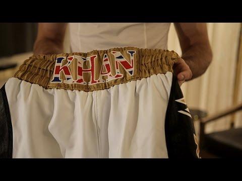 Amir Khan's 24-Carat Gold Shorts – SHOWTIME CHAMPIONSHIP BOXING