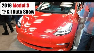 Model 3 At The 2018 Canadian International Auto Show