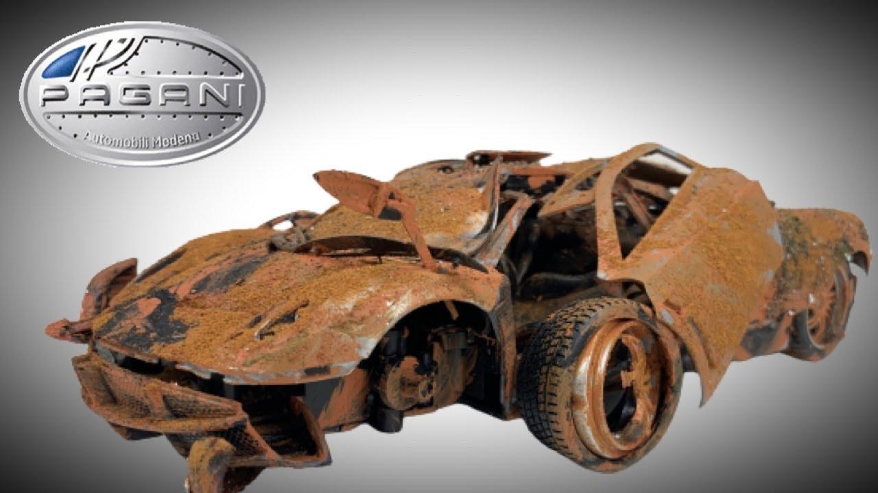 Download Pagani Huayra Restoration Model Hypercar