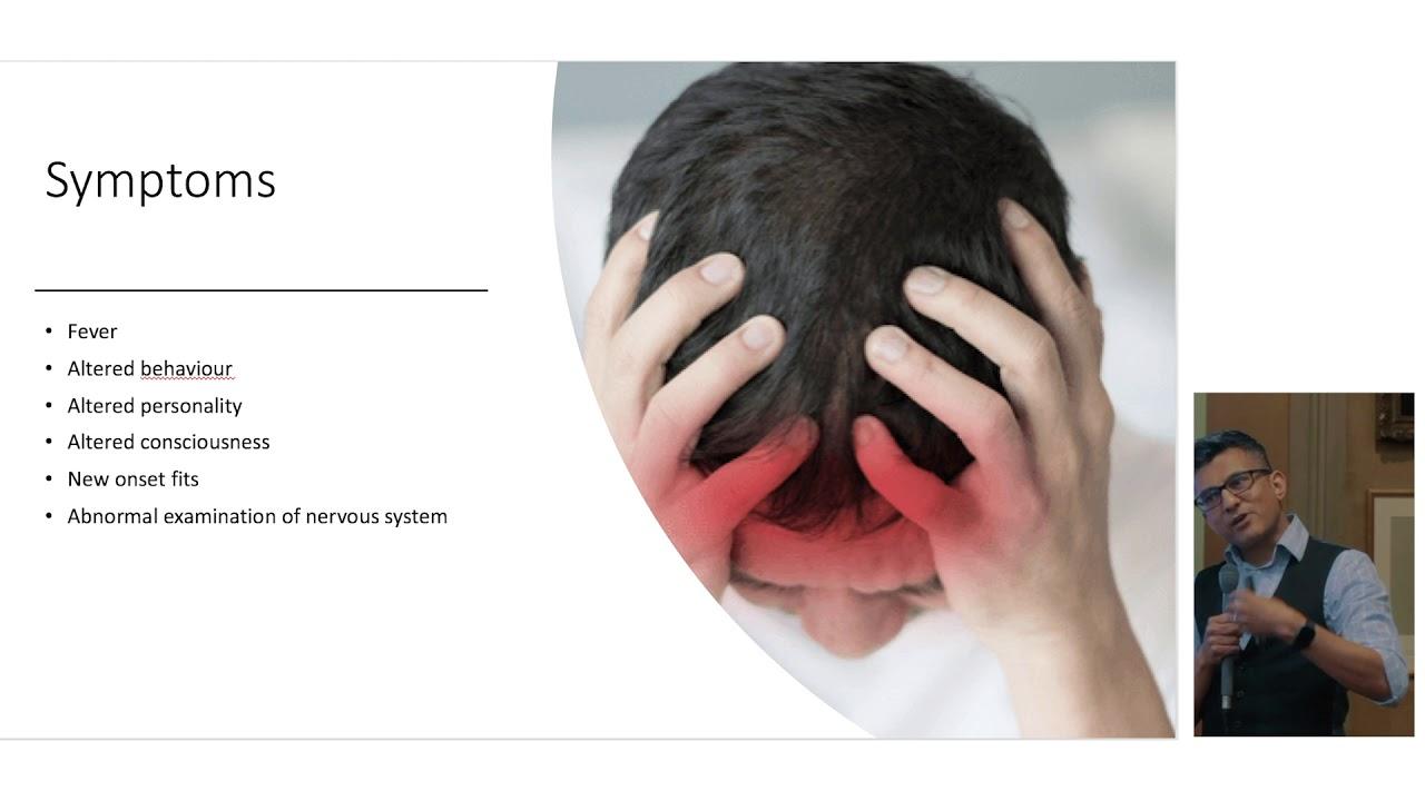látás meningoencephalitis esetén)