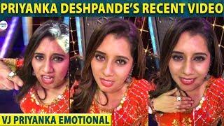 Vj Priyanka's Latest : கூடிய சீக்கிரம் மீண்டும் வருவோம் | VijayTv | Start Music | LittleTalks