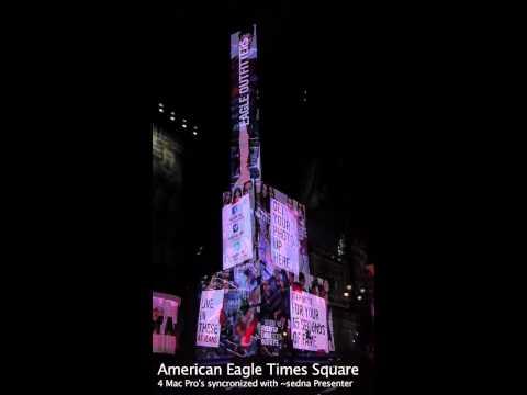 American Eagle LED Board Times Square.mov