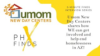 Umom New Day Center aims to end homelessness in Maricopa County!