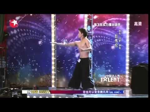 【HD】《中國達人秀》台灣選手 彭偉倫 表演『街舞水晶球』