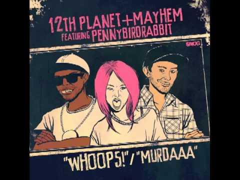 12th Planet & Mahem- Whoops Feat. Pennybirdrabbit