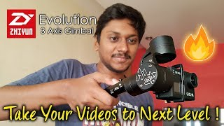 Zhiyun Evolution 3 axis Gimbal | Awesome Stabilizer for Your Action Cam!