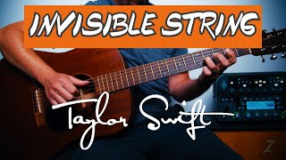 Invisible String Guitar Lesson Tutorial Taylor Swift How To Play