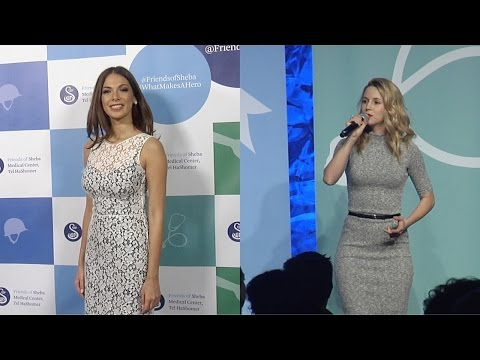 Moran Atias & Alona Tal Come Out to Support Friends of Sheba Honoring Our Heroes Gala 2015