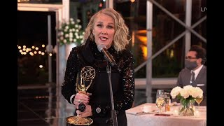 72nd Emmy Awards: Catherine O'Hara Wins for Outstanding Lead Actress in a Comedy Series